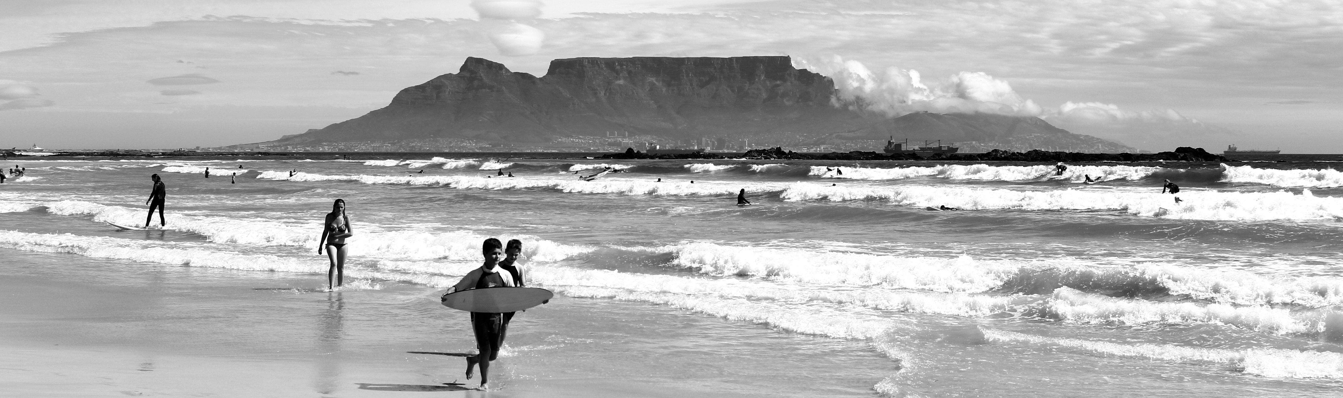 spots kitesurf surf table mountain Cap Afrique du Sud